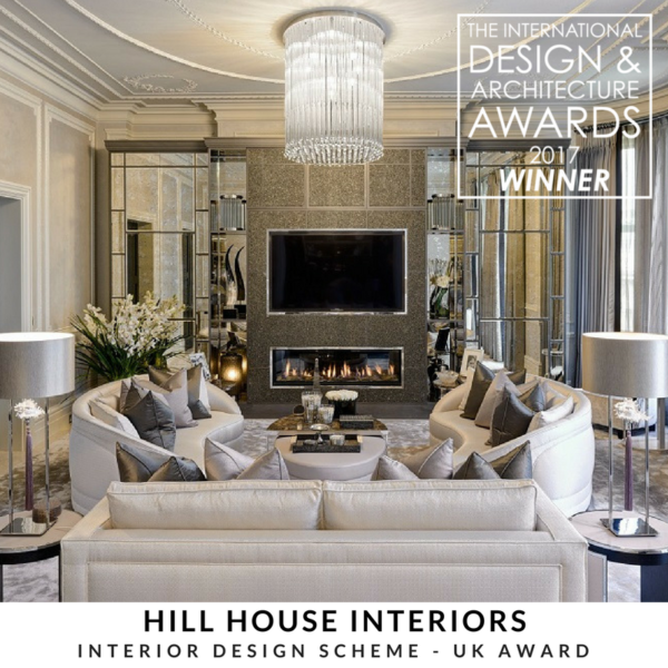 Hill house interiors henley homes win at the for International decor uk