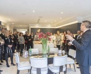 Press flock to Octagon's latest development
